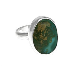 etsy, sterling silver ring, and paradise turquoise image