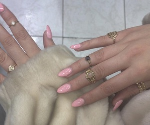 aesthetic, vintage, and nails image
