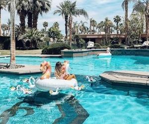 luxurious, paradise, and pool image