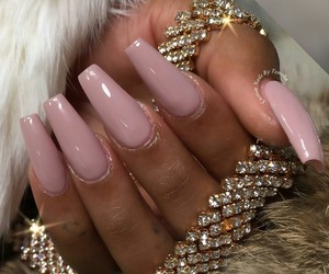 beauty, glam, and coffin nails image
