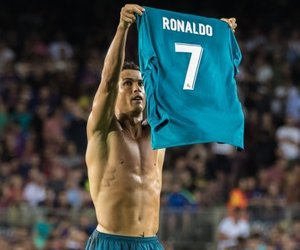 madrid and cr7 image