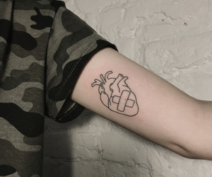 tumblr tatoo heart image