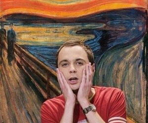 sheldon, thebigbangtheory, and OMG image