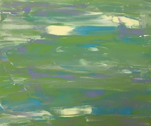 abstract, art, and green image