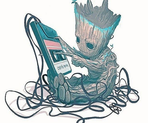 groot, cute, and guardiansofthegalaxy image