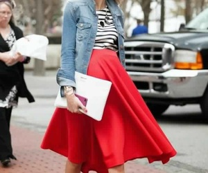 jeans, streetstyle, and striped image