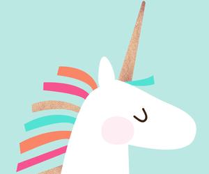 unicorn, colors, and background image