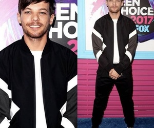 1d and louis tomlinson image
