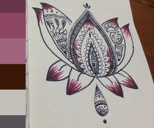 art, book, and colors image