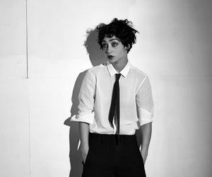 actress, black and white, and ruth negga image