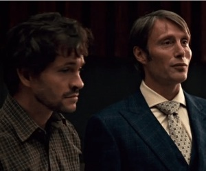 hannibal, serial, and lecter image