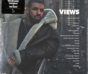 album cover, Drake, and views image