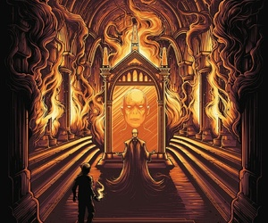 harry potter, book, and voldemort image