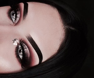 art, eyes, and makeup image