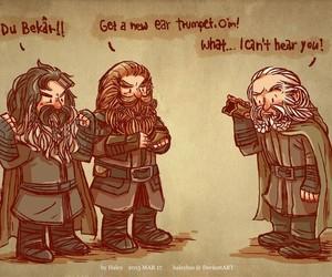 drawing, dwarves, and edit image