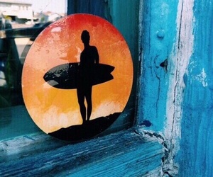 beach, surf, and tumblr image