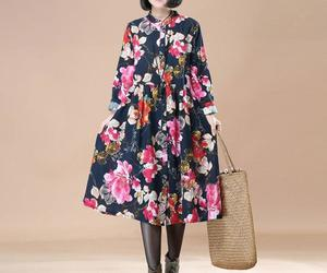 fashion, buykud, and print dress image