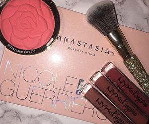 blog, high end makeup, and drugstore makeup image