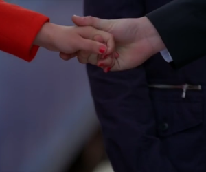 glee, hands, and touch image