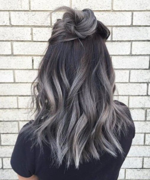 Nice Hair Accessory Hun Grey Hair Wavy Hair Ombre Hair Hair Dye