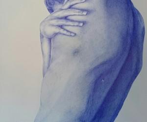 art, ballpoint, and pen image