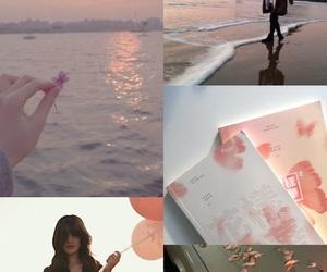 aesthetic, korea, and pink image