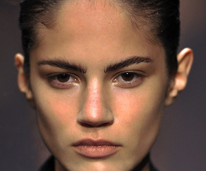 Ann Demeulemeester, beauty, and ss 09 image