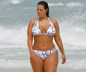 ashley graham, s.i. swimsuit model, and very sexy belly button image