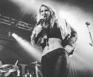black and white, music, and charlotte wessels image
