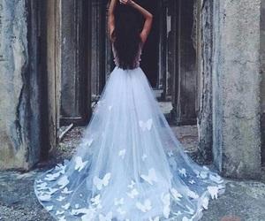 amazing, dress, and wedding image