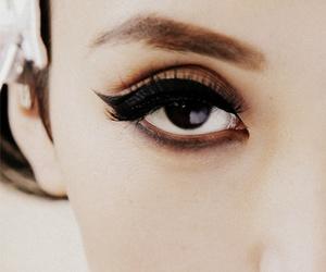 eyeliner, eye, and eyes image