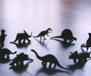 dinosaur, toys, and vintage image
