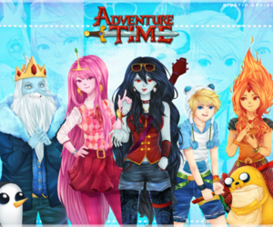 anime, JAKe, and adventure time image