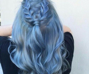 blue, cool, and hair image