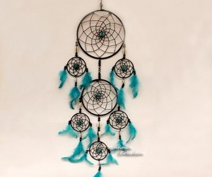 wall hanging, dream catchers, and decor wall image