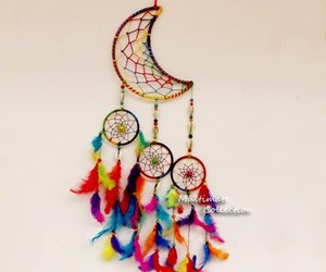 dream catchers, wall hanging, and decor wall image