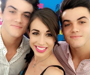celebrity, colleen ballinger, and dolan twins image