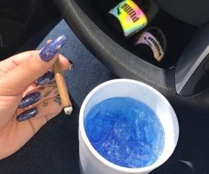 blue, car, and grunge image