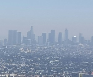 building, california, and city of angels image