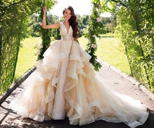 bridal, romantic, and princess image