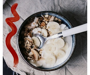 breakfast, food, and granola image