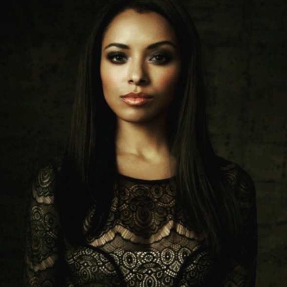 the vampire diaries, kat graham, and Bonnie image