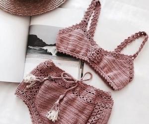 bikini, fashion, and summer image