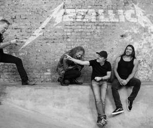 metallica, James Hetfield, and metal image