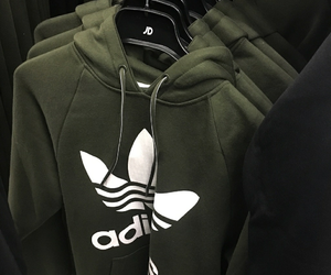 adidas, green, and clothes image