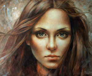art, fine art, and Oil Painting image