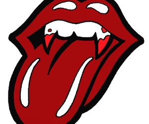 rock, the rolling stones, and vampires image