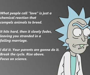 quotes and rick and morty image