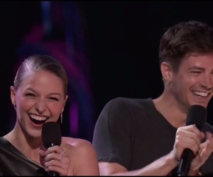 teen choice awards, melissa benoist, and grant gustin image