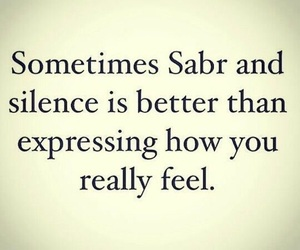 silence, allah, and islam image